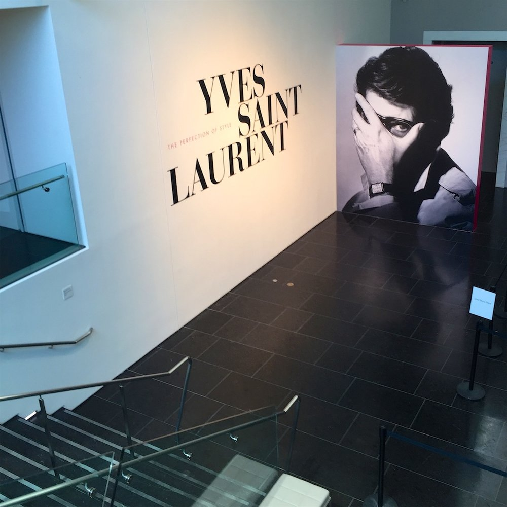 "Yves Saint Laurent ""Perfection of Style"" exhibition at the Virginia Museum of Fine Arts, Richmond, VA"