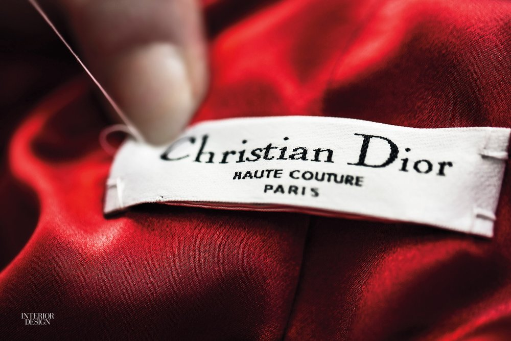 Christian Dior, Haute Couture 2012 label - Interior Design