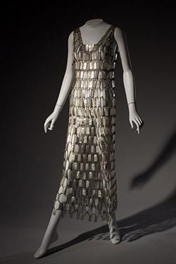 Paco Rabanne, wedding dress, circa 1968, France