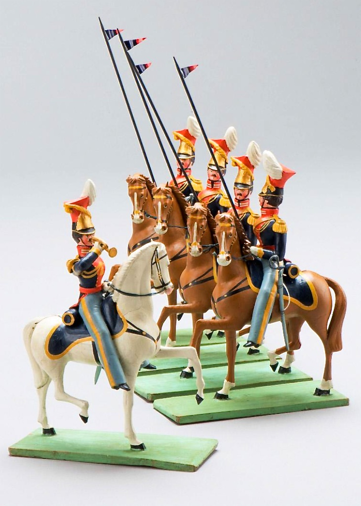 Set of German toy soldiers 1830