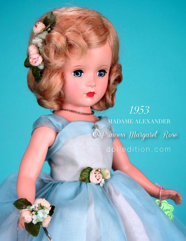 "14"" Princess Margaret Rose 1953 Blue Bridesmaid"