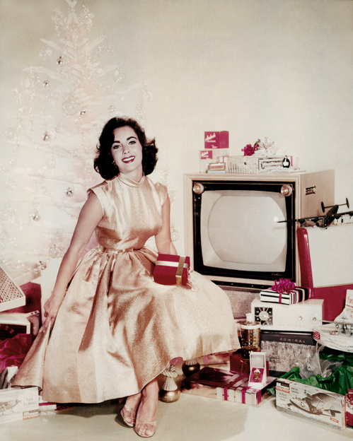 Elizabeth Taylor in 1955 / Getty images