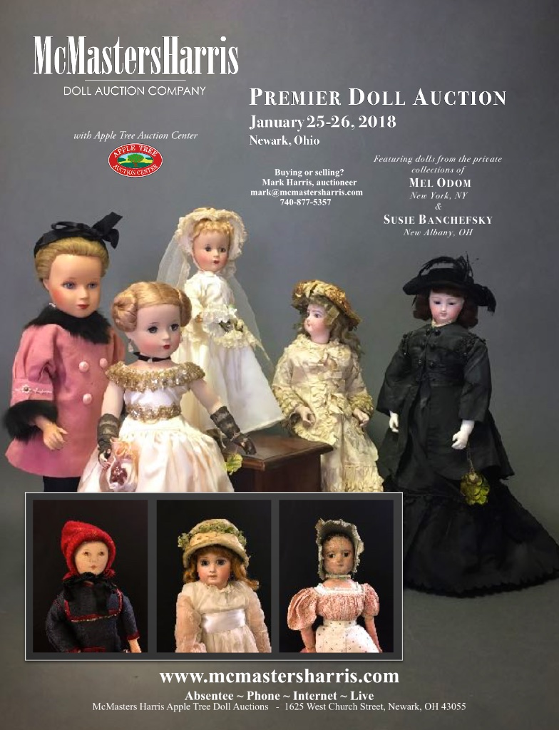 January 25-26 Premier Doll Auction