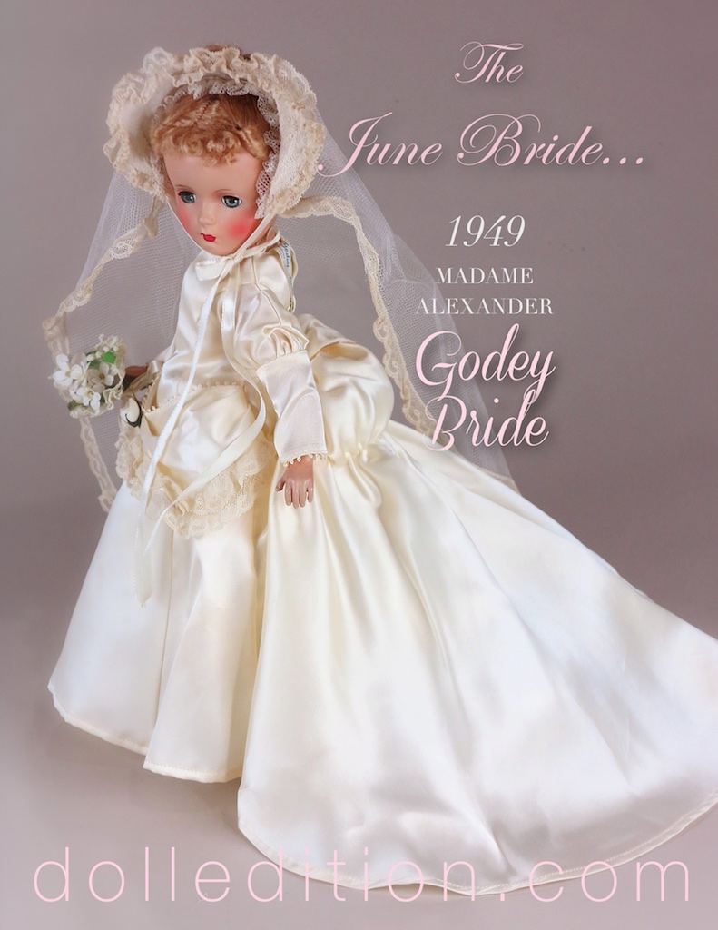 "In 1849, Godey's Lady's Book, the Vogue of the Victorian world, decreed: ""Custom has decided, from the earliest ages, that white is the most fitting hue, whatever may be the material. It is an emblem of the purity and innocence of girlhood, and the unsullied heart she now yields to the chosen one."""