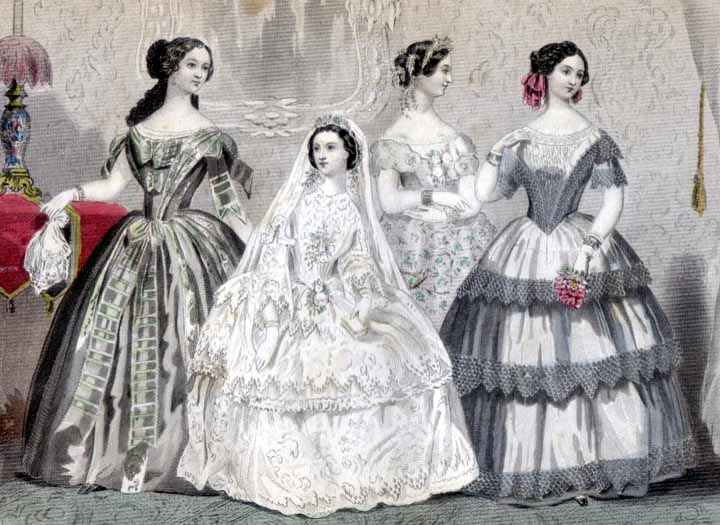 Godey's Lady's Book, January 1856