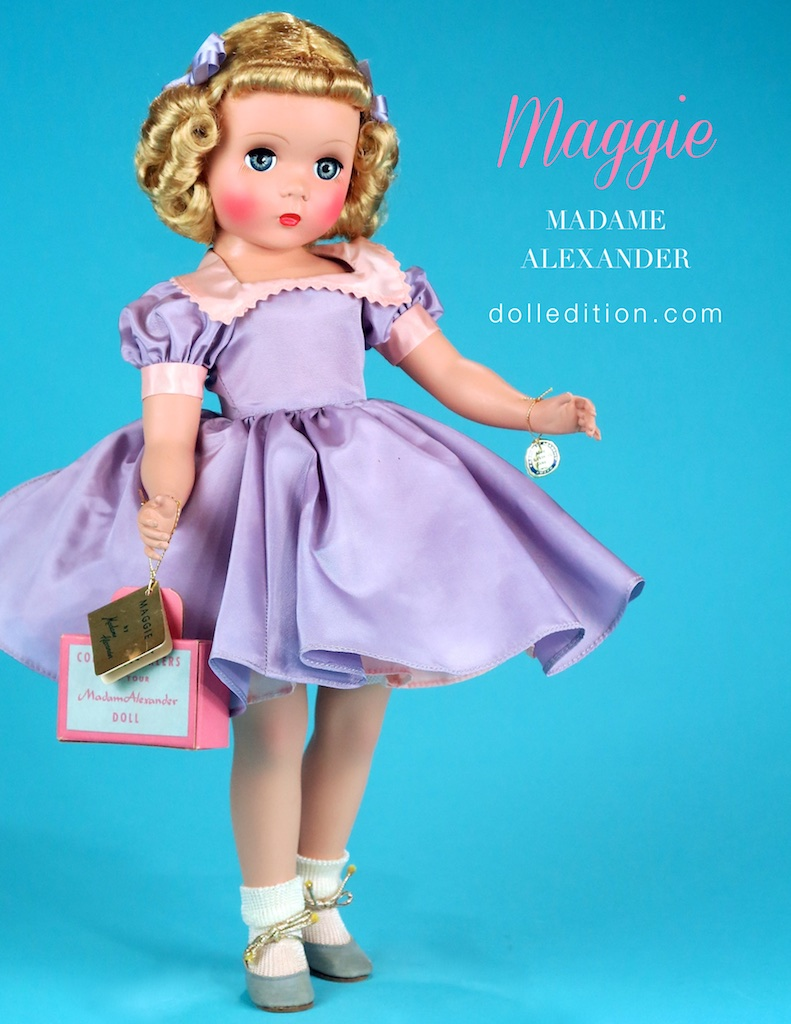 "1951 / 17"" ""Maggie"" No. 1500 by Madame Alexander"