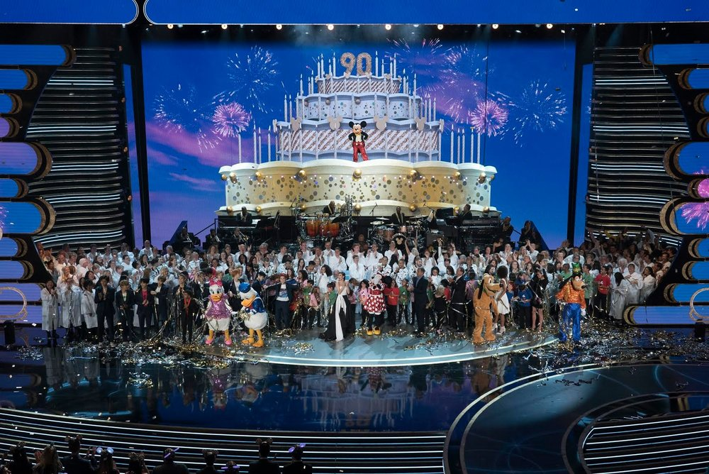 "The Walt Disney Company celebrated Mickey Mouse's birthday November 4 with a prime-time ABC special, ""Mickey's 90th Spectacular."""