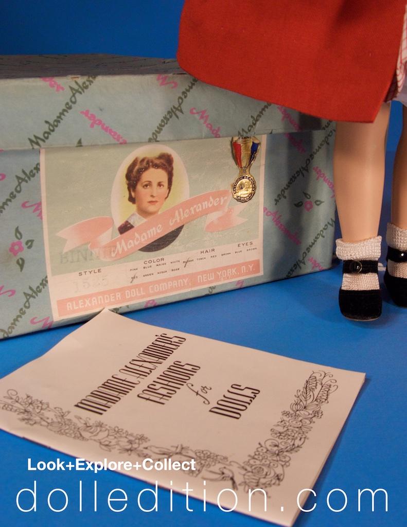 """15"""" Madame Alexander 1954 Binnie Walker No. 1525"""
