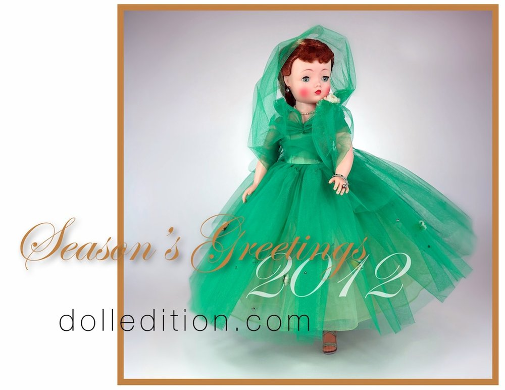 "Cissy 1958 Ballerina Length ""Evergreen""Gown / Christmas Cissy 2012 by Madame Alexander"