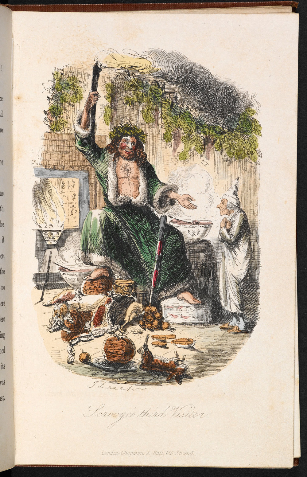 "he illustrations in ""A Christmas Carol"" were done by John Leech."