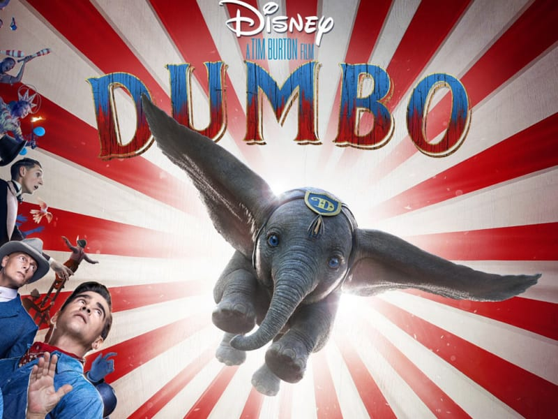DUMBO - Directed by Tim Burton
