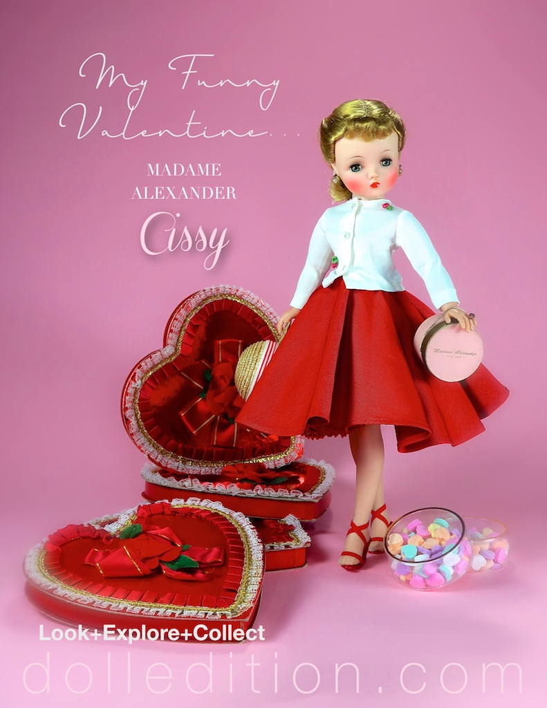 Cissy takes a moment to join us, to both celebrate Valentine's Day 2019 and Valentine's past.
