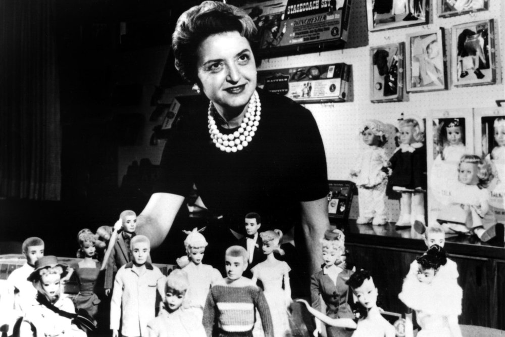 Ruth Handler, the founder of Barbie