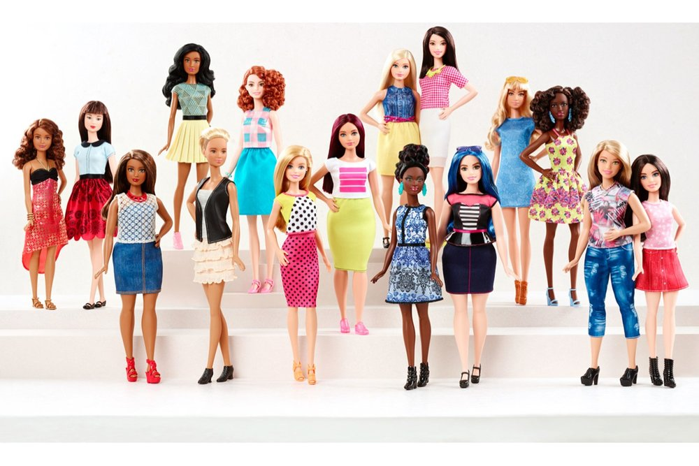 """""""We looked at diversity in every aspect – ethnicity, body type, types of fashion that she's wearing – so more children in the world see themselves reflected in the brand,"""" Kim Culmone, Barbie's senior vice president of design, tells Vogue."""
