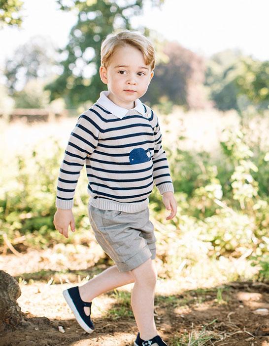 Prince George wearing Pepa & Co.