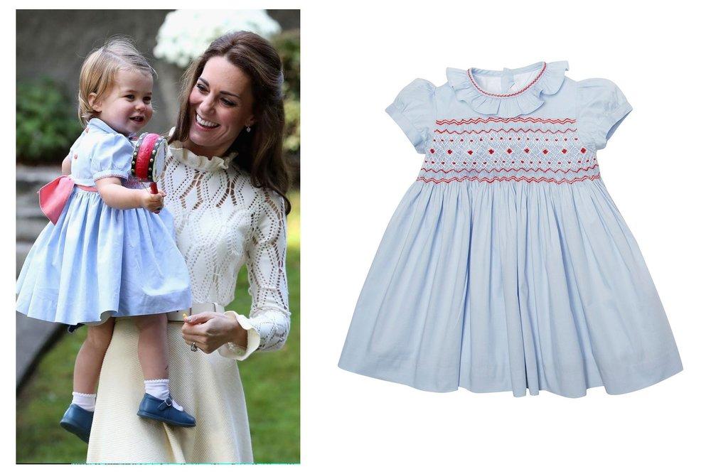 Princess Charlotte wearing Pepa & Co.