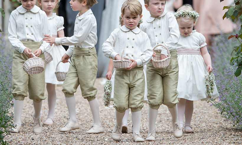 A Royal wedding party outfitted by Pepa & Co.