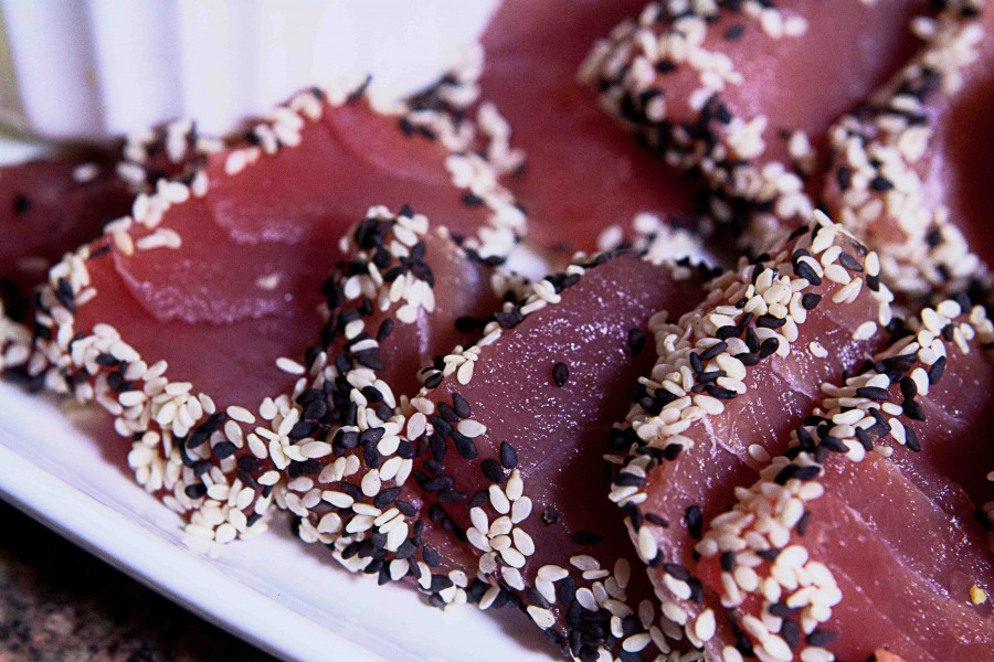 The Vintage Olive's Sesame Ginger Tuna