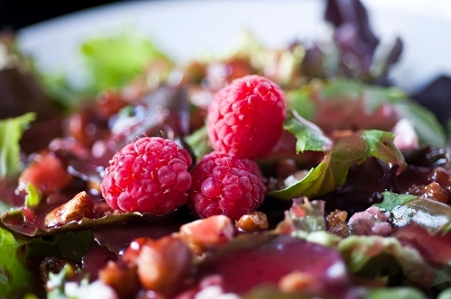 Raspberry Walnut Vinaigrette