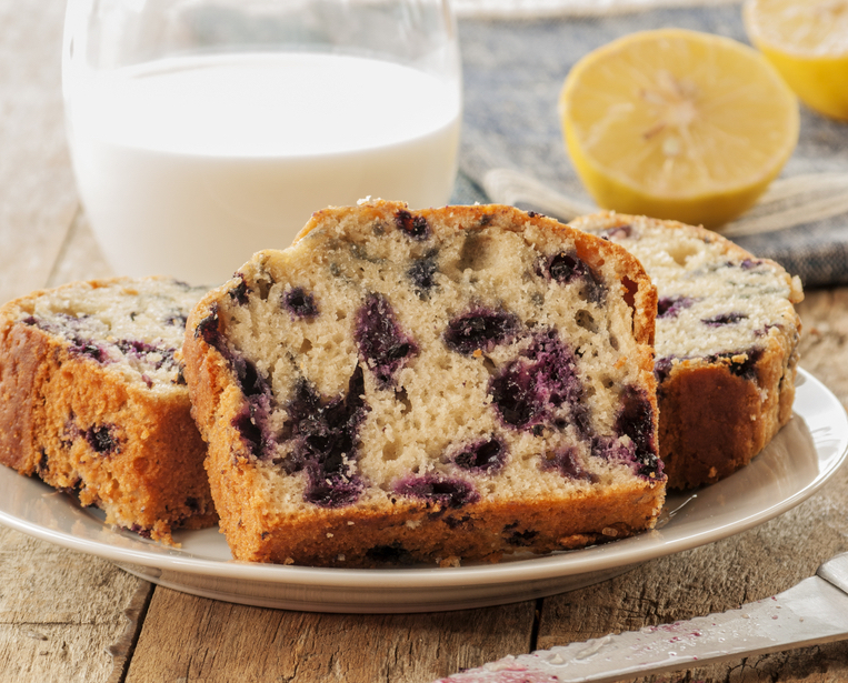 Blueberry Lemon Tea Cake