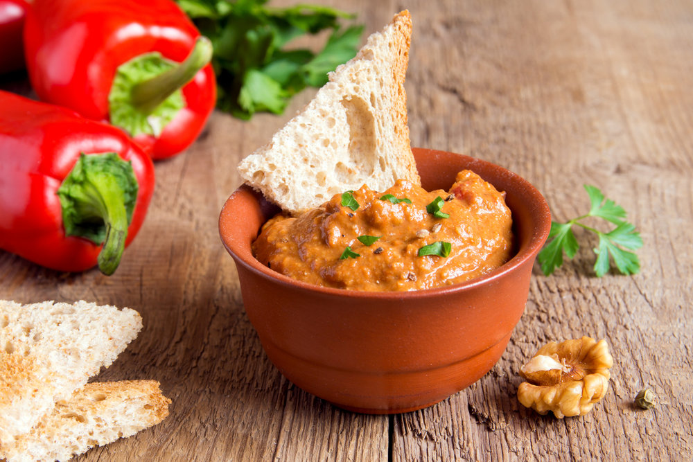 Turkish Roasted Pepper Spread