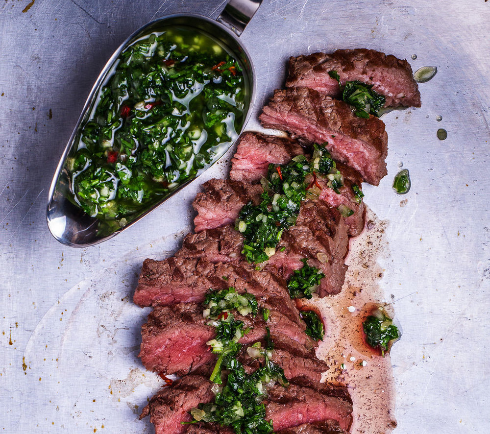 Chimichurri Filet Mignon
