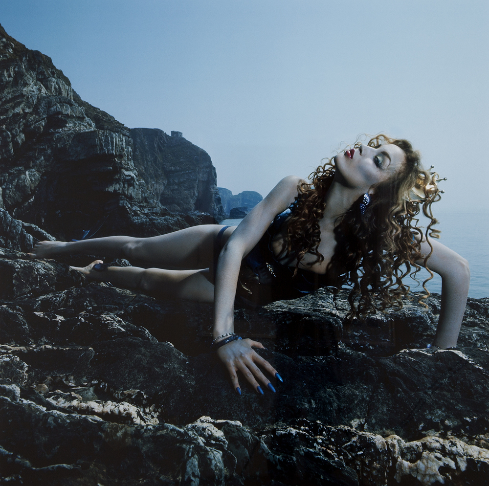 Graham Hughes/Bryan Ferry,  Siren,  1975, C-type crystal archive print mounted on aluminum, 40 x 40  inches, Edition of 10