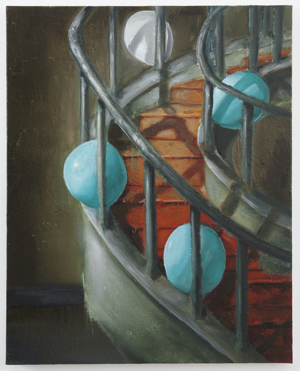 Cristof Yvorè,  Untitled,  008, oil on canvas, 36 1/2 x 29 1/4 inches