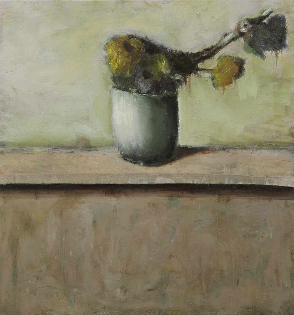 "Cristof Yvorè, ""Untitled,"" 2008, oil on canvas, 41 x 38 1/2 inches"