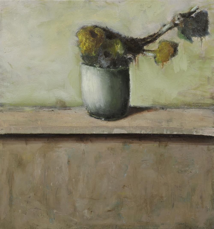 "Cristof Yvorè, ""Untitled,"" 2008, oil on canvas, 41 x 38 1/2 inches"