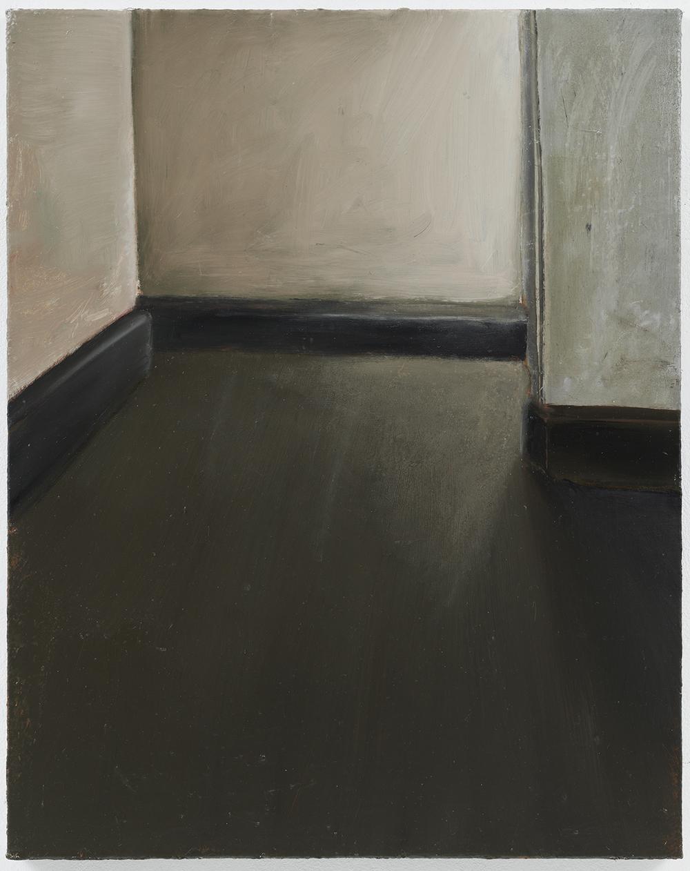 "Cristof Yvorè, ""Untitled,"" 2009, oil on canvas, 36 1/4 x 29 inches"