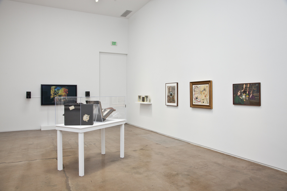"""""""Jess's Didactic Nickelodeon and Lawrence Jordan's Collage and Film (Gallery 3)."""" June 6 - July 10, 2015"""