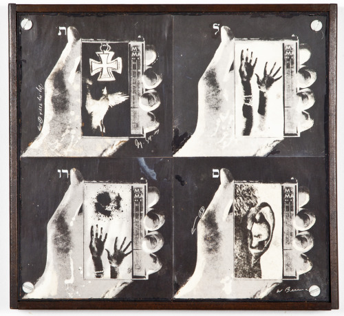 Wallace Berman, Untitled, c.1965, image verifax collage