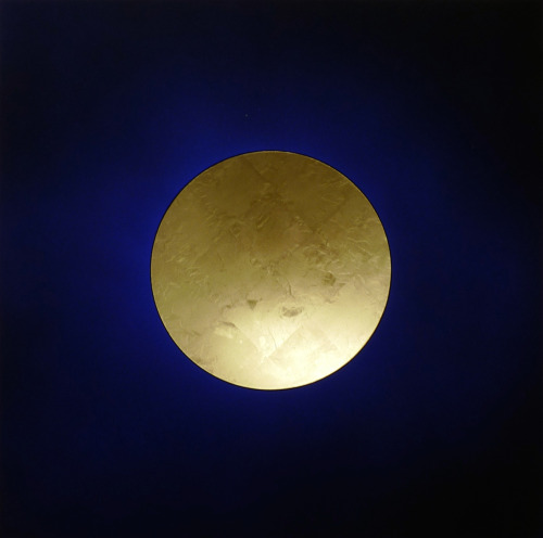 Lita Albuquerque, Auric Field Gold (Au 79), 2015, pigment on panel