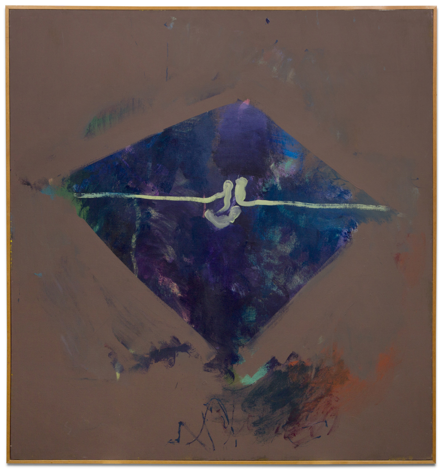 John Altoon,  Untitled (SUNSET SERIES #33) , 1965, oil on canvas, 62 x 57 inches