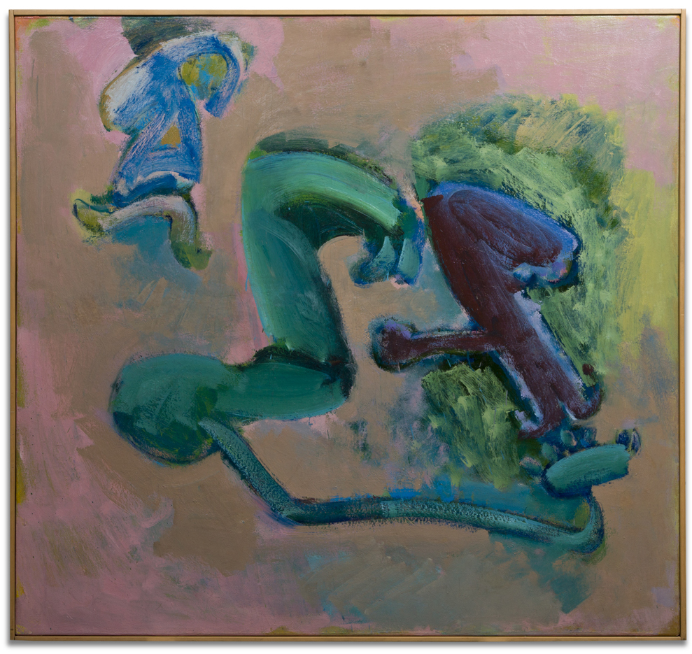 "John Altoon, ""Untitled,"" 1964-5, oil on canvas, 56 x 59 inches"
