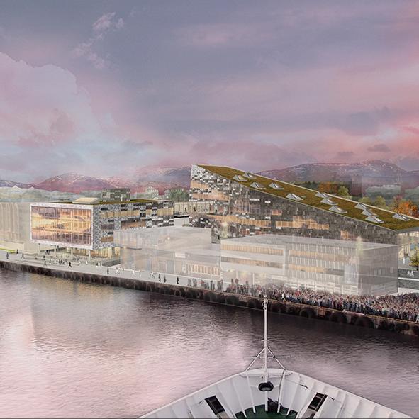 Image: Ratio Arkitekter AS (skisseprosjekt)