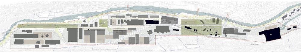 Developement plan,Rjukan Næringspark