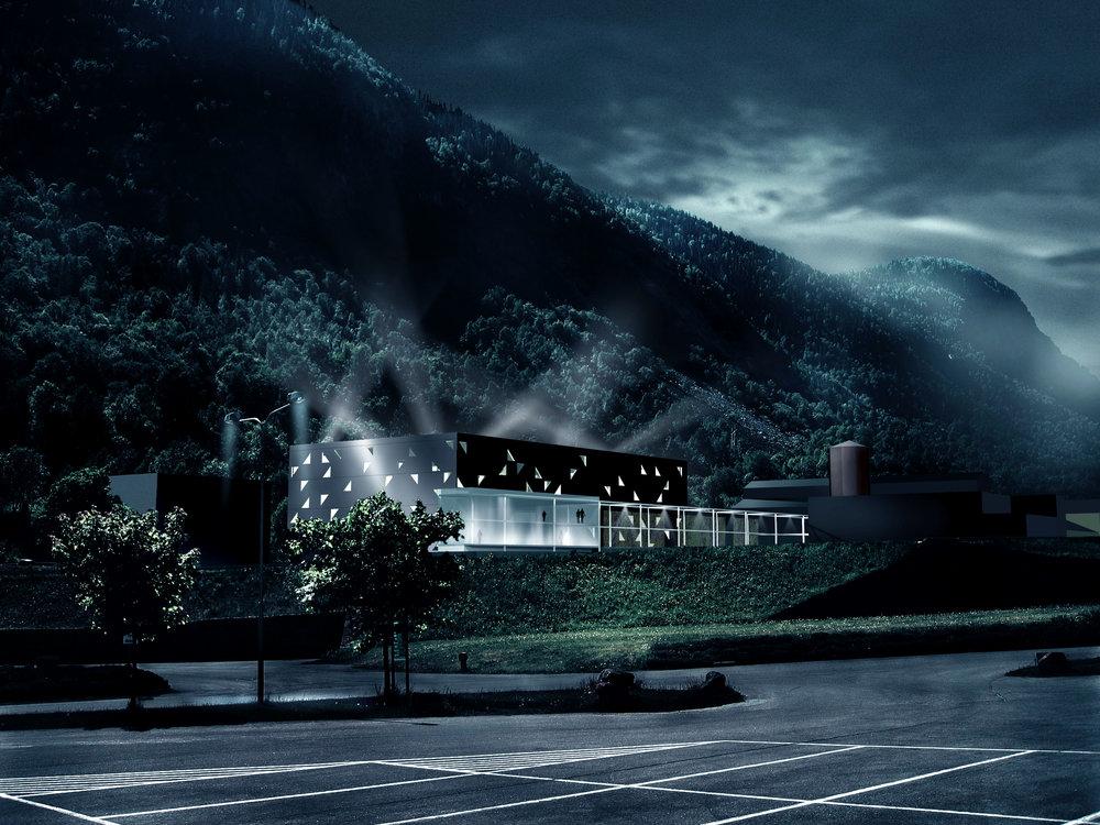 Konseptskisse Norsk Titan, 2007