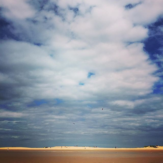 Kite flying. #beach #norfolklife #wellsnextthesea #thebestofnorfolk