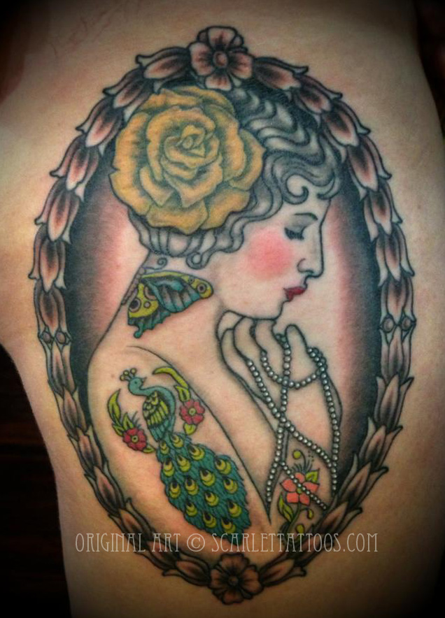 Tattooed Ziegfeld Girl