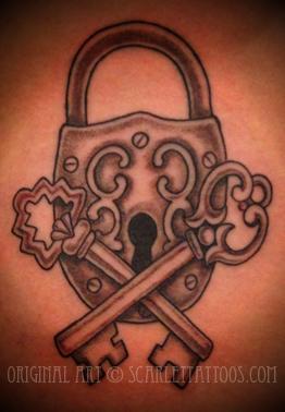 Ornate Lock & Keys
