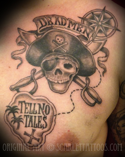 Pirates of the Caribbean tattoo