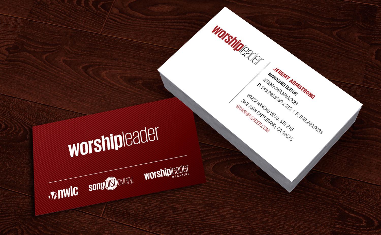 Worship Leader • Business Cards — Katie Noel