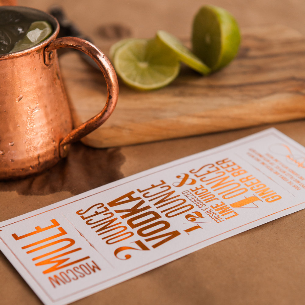 Copper Foiled Moscow Mule Print 6