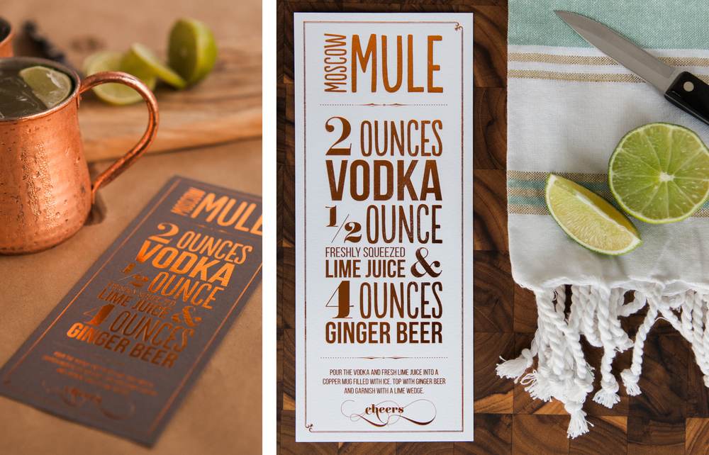 Copper Foiled Moscow Mule Print 7