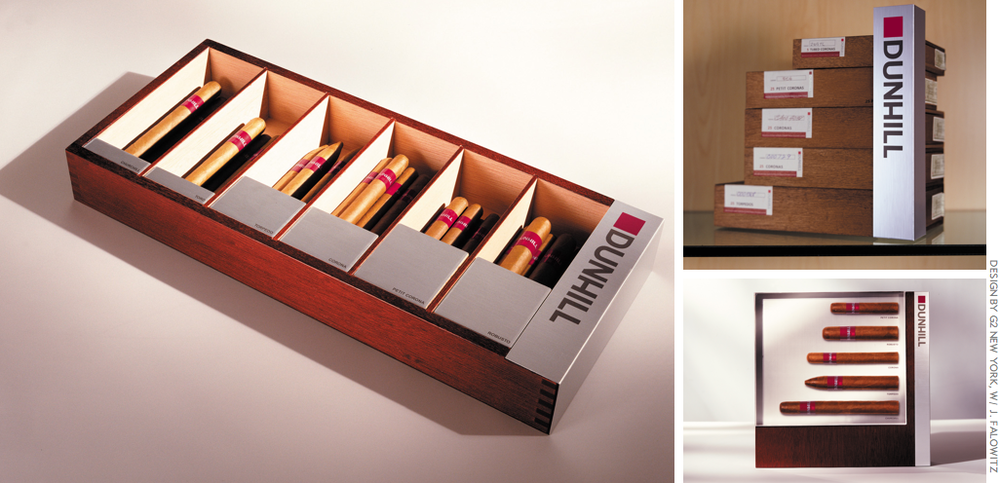 The Dunhill Signed Range Cigars: POS materials for tobacconists