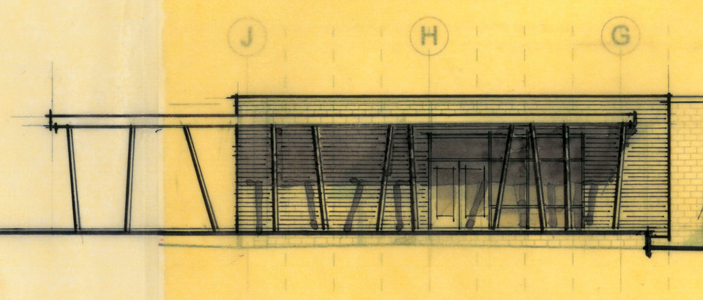 upper floor exterior sketch