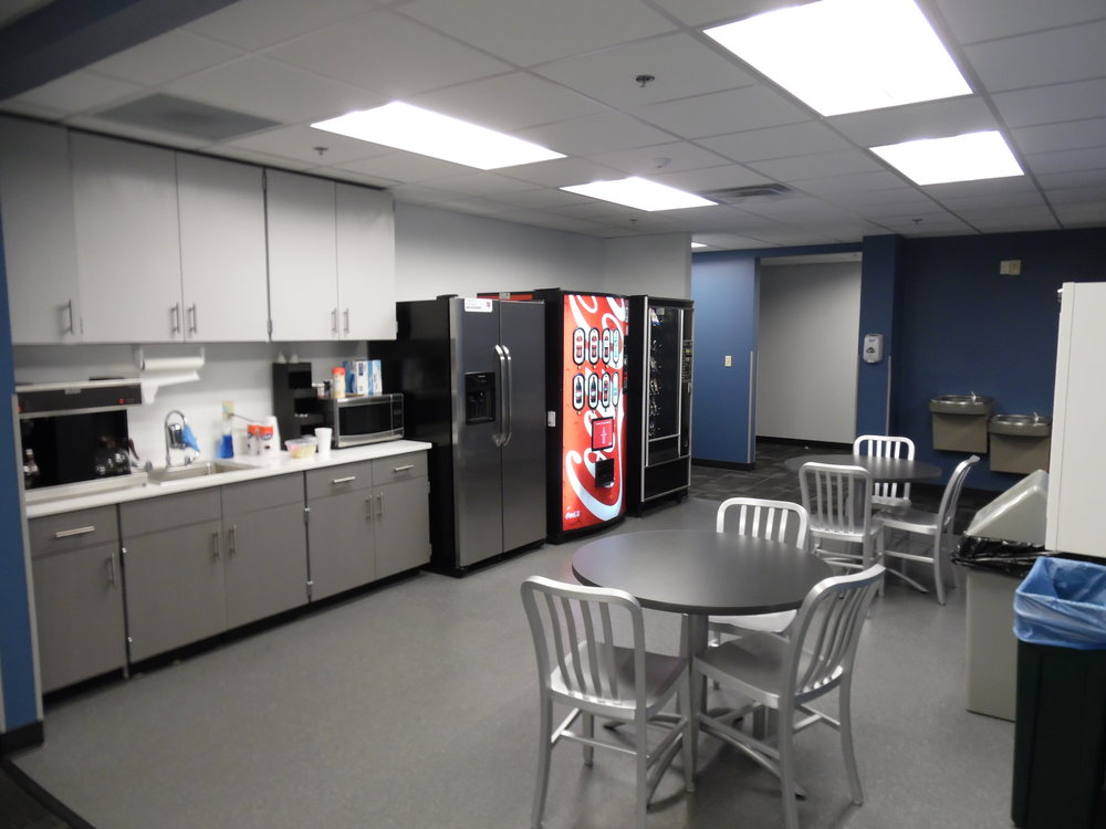Kitchen breakroom
