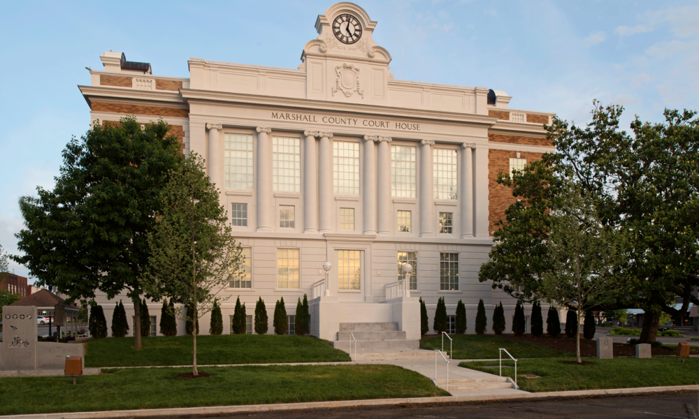 Marshall County Courthouse renovated